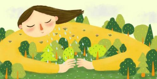 幼儿园植树节倡议书:我与小树共成长!